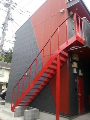 デザイナーズアパート お洒落な外観が売りです。