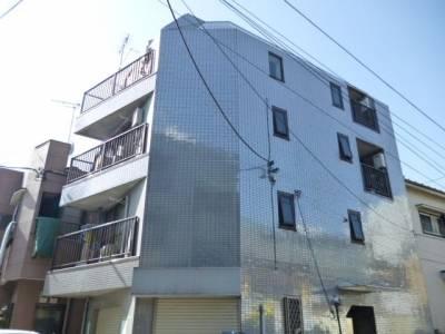 東北角のタイル鉄筋4階建