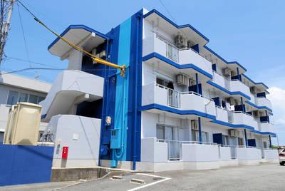頑丈な鉄筋コンクリートマンション