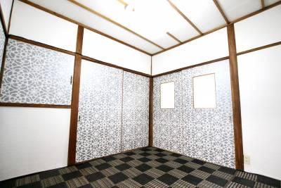 昔ながらの和室を、モダンにリフォームしました。