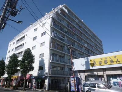 9階建て分譲マンション(SRC)です。