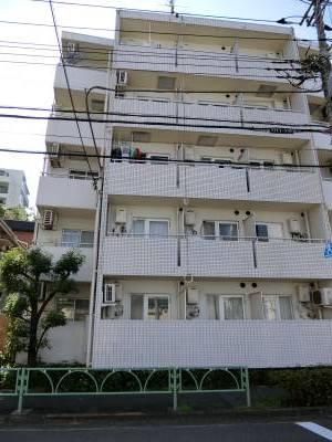 【分譲賃貸マンション】 鉄筋コンクリート、タイル張り
