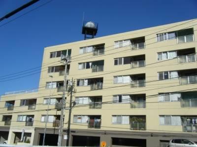 環状二号線沿いマンション