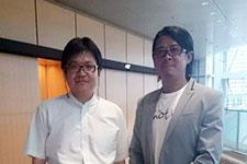 榊淳司氏と大友健右