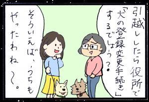 犬の引越し 畜犬登録忘れずに 引越しに伴う登録変更手続きは